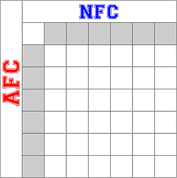 printable super bowl block pool template - nfl playoff pool home